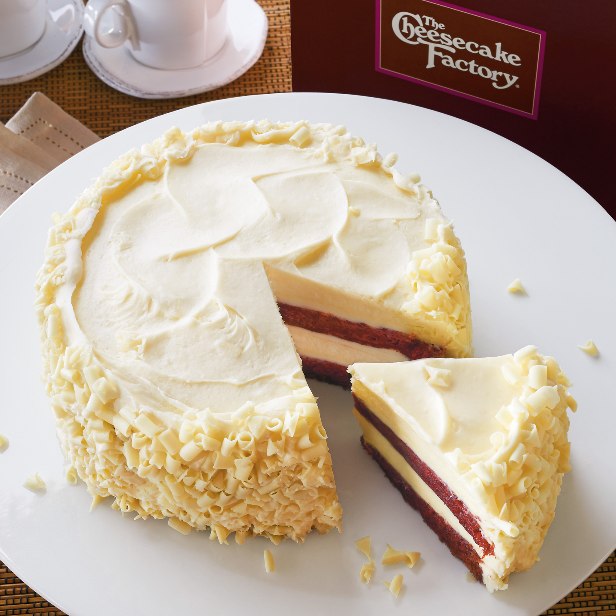 The Cheesecake Factory Ultimate Red Velvet Cake Cheesecake  ☆Desserts☆ on Pinterest