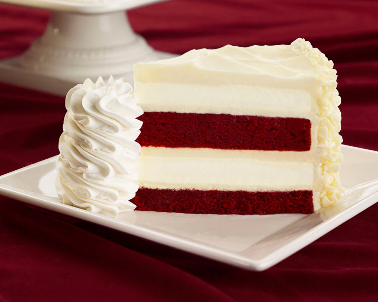 The Cheesecake Factory Ultimate Red Velvet Cake Cheesecake  Red Velvet Cheesecake Recipe — Dishmaps