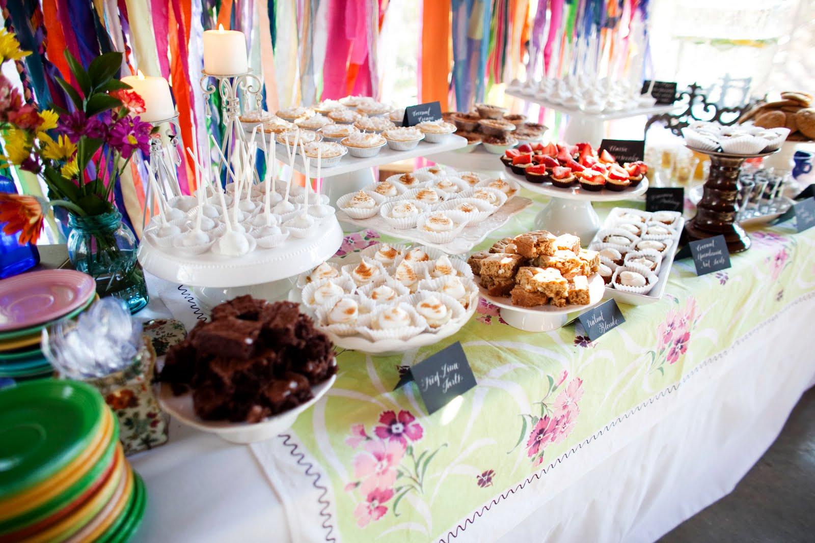 The Dessert Bar  Ask Cynthia  Wedding Inspirations