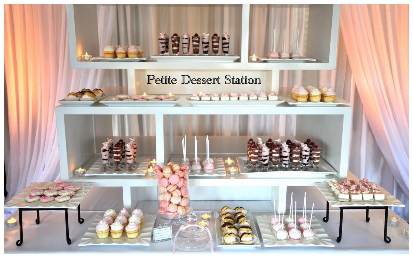 The Dessert Bar  Through The Eyes of Savvy Bryde Guru The Sweetest Thing