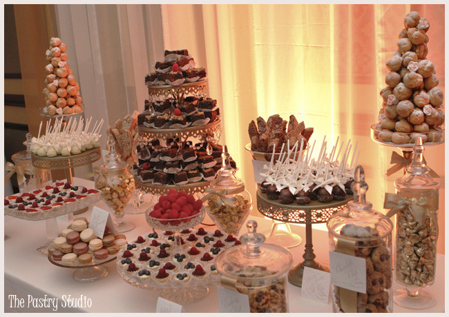 The Dessert Bar  A Romantic Wedding Cake and Dessert Bar at Hammock Beach