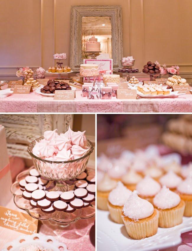 The Dessert Bar  A Sweet Pink Dessert Table