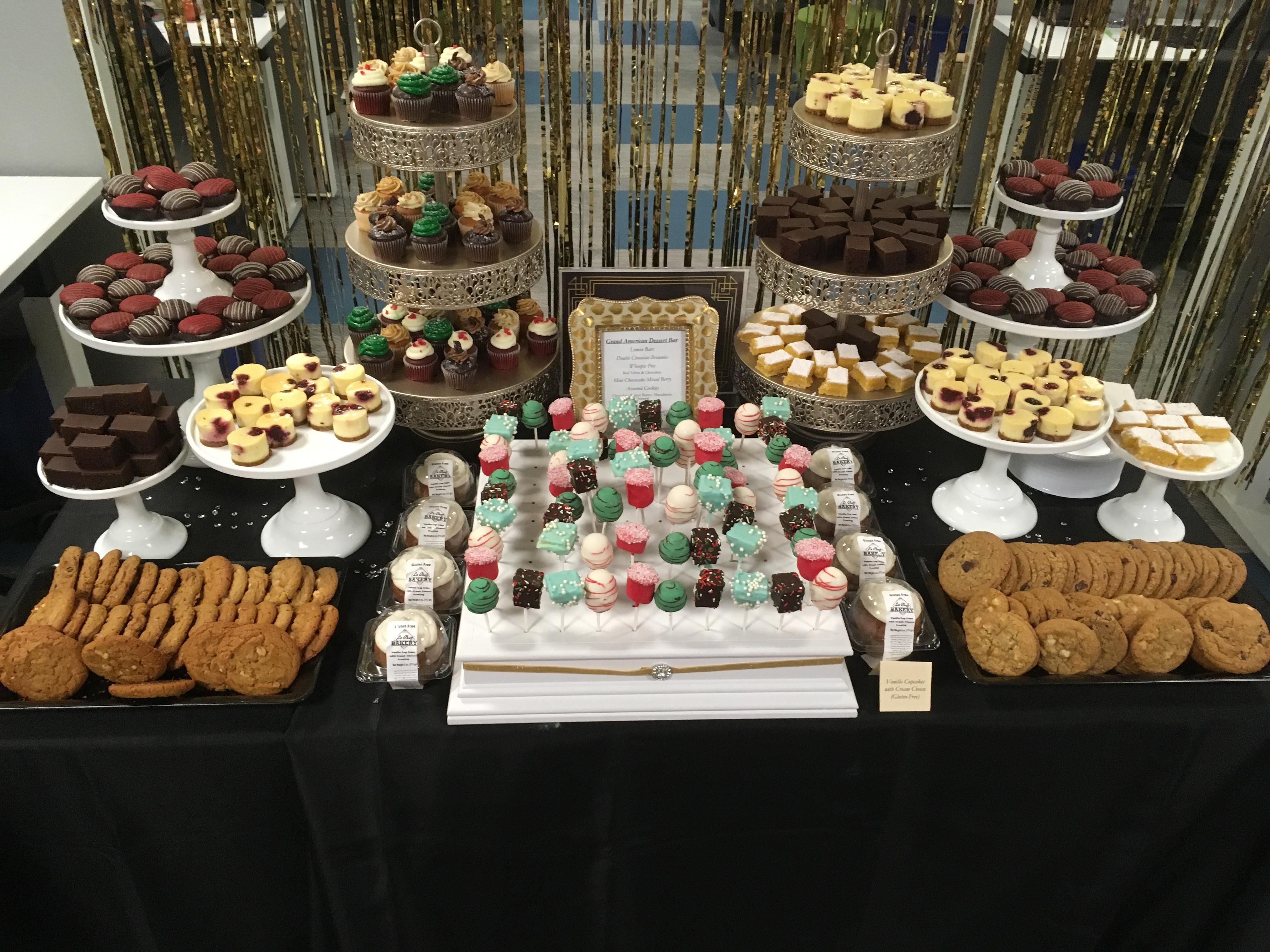 The Dessert Bar  Holiday Parties and Dessert Bars – absolute celebrations