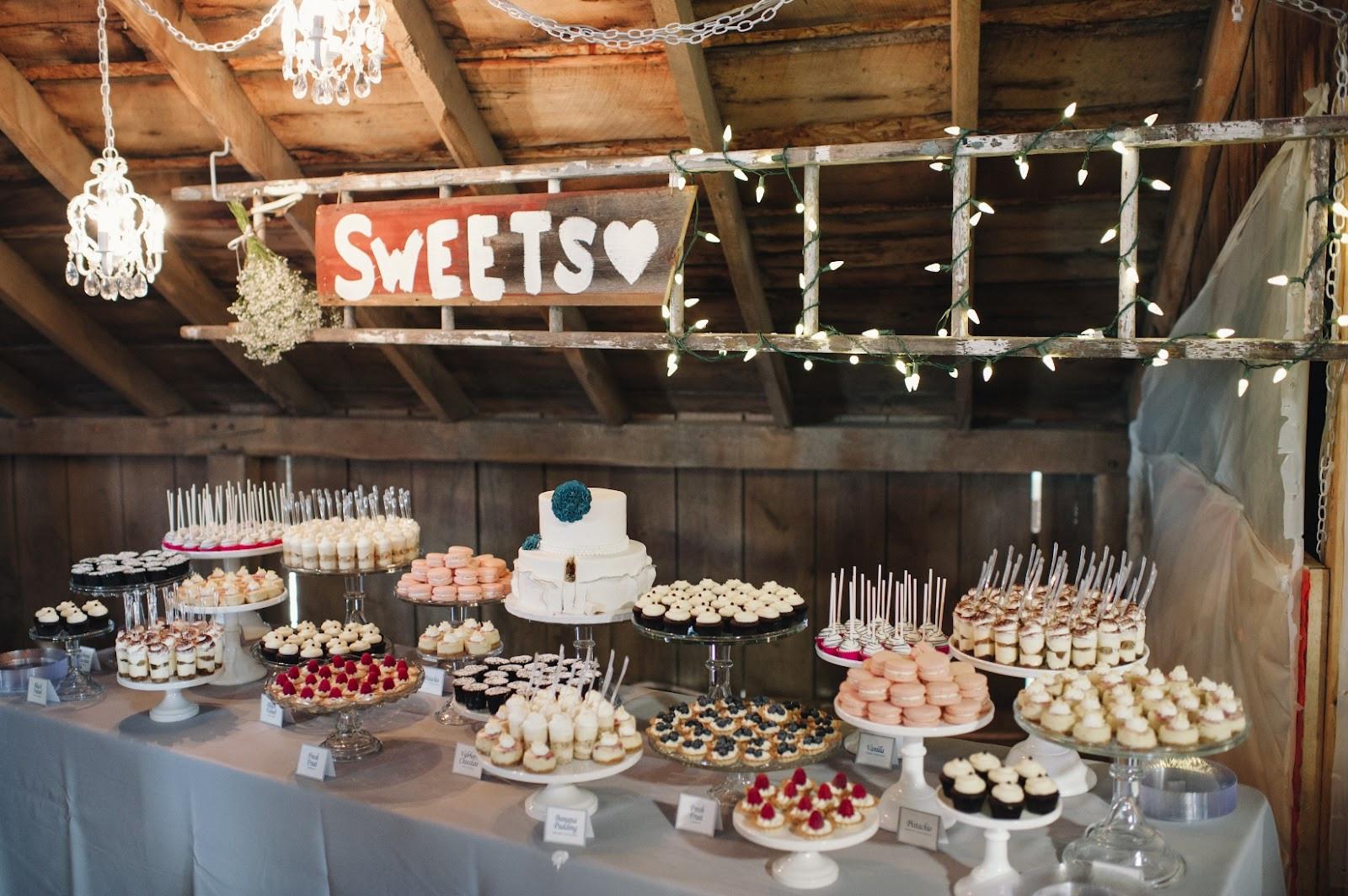 The Dessert Bar  12 Best Wedding Dessert Bars Pretty Happy Love Wedding