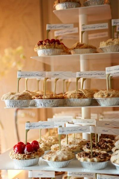 The Dessert Bar  Cute Pie Dessert Bars B Lovely Events