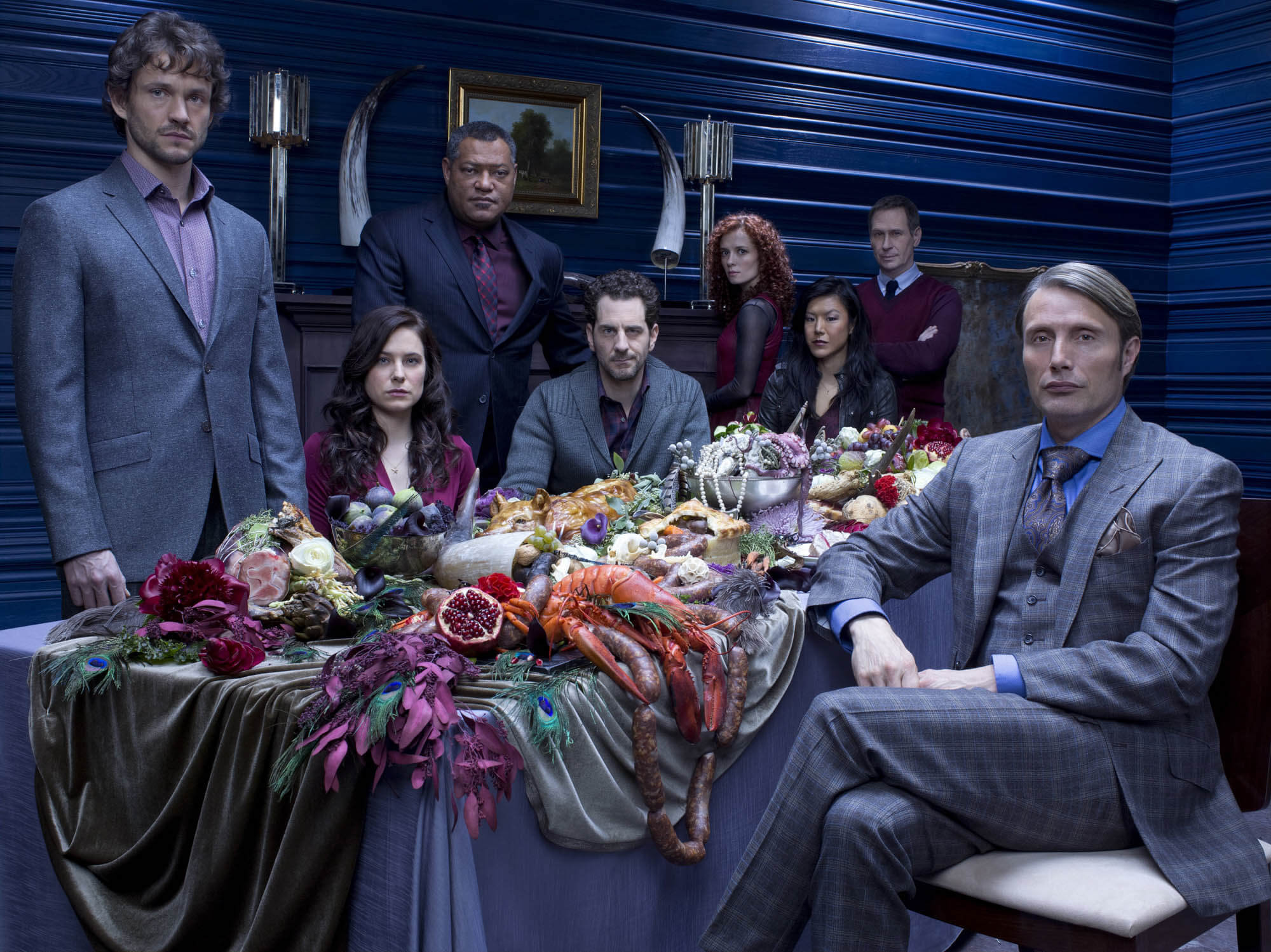 The Dinner Cast  The Suits of Hannibal & How To Dress Like Lecter