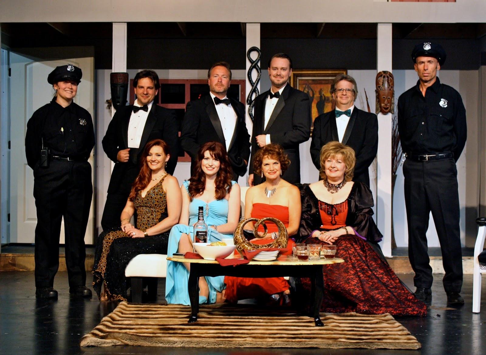"""The Dinner Cast  Cast of """"Rumors"""""""