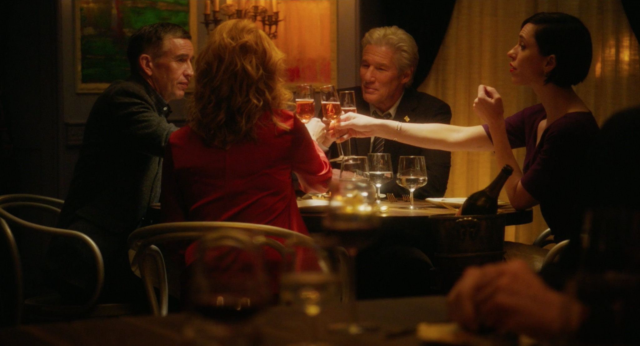 The Dinner Cast  Richard Gere and the Cast of The Dinner at the Tribeca
