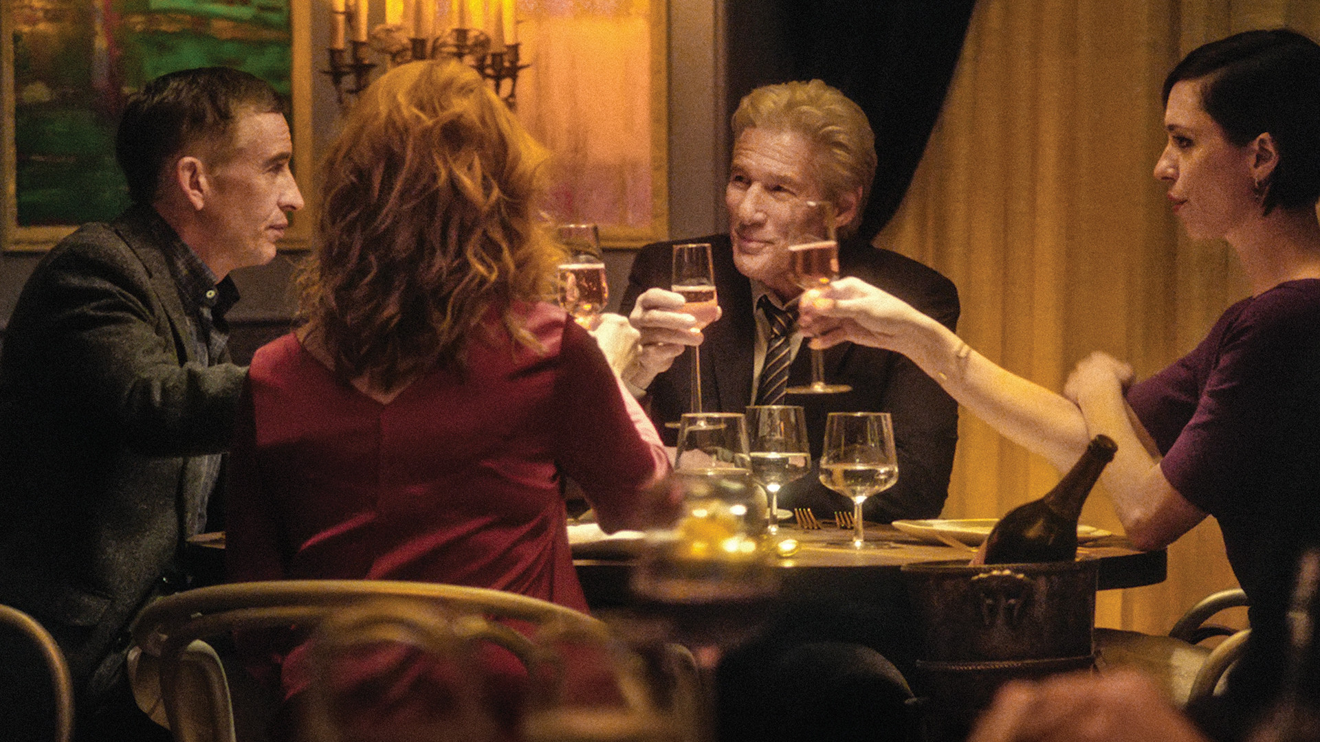 """The Dinner Cast  Movie Review """"The Dinner"""" is pricey biting smart and"""