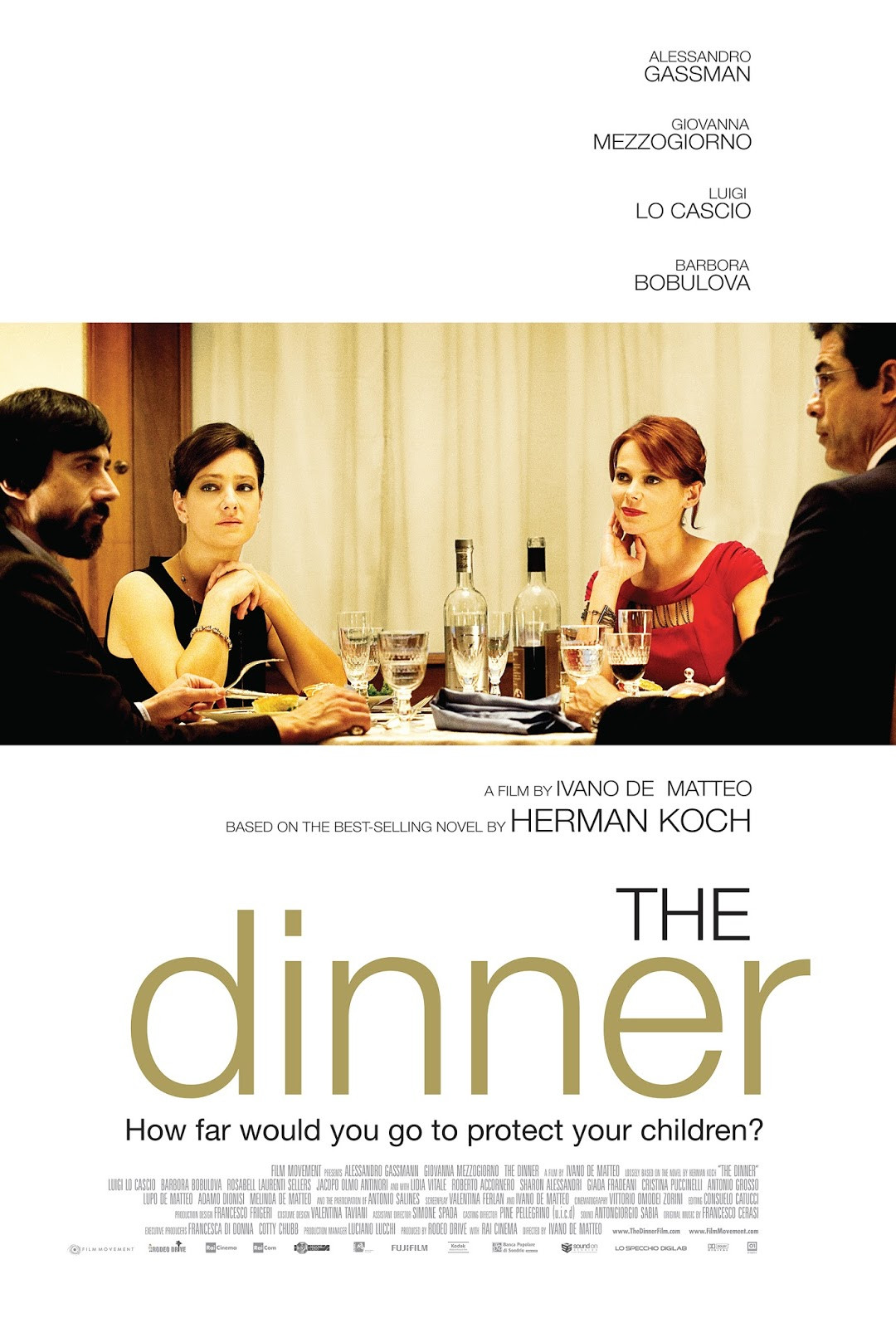 The Dinner Imdb  TrustMovies Ivano de Matteo s screen version of Herman