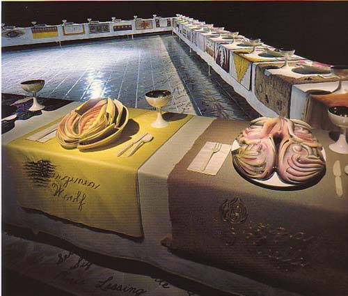 The Dinner Party Judy Chicago  The Dinner Party de Judy Chicago