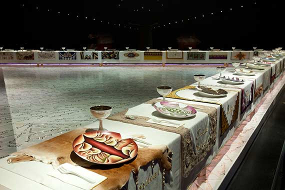 The Dinner Party Judy Chicago  Judy Chicago on Art and Aging