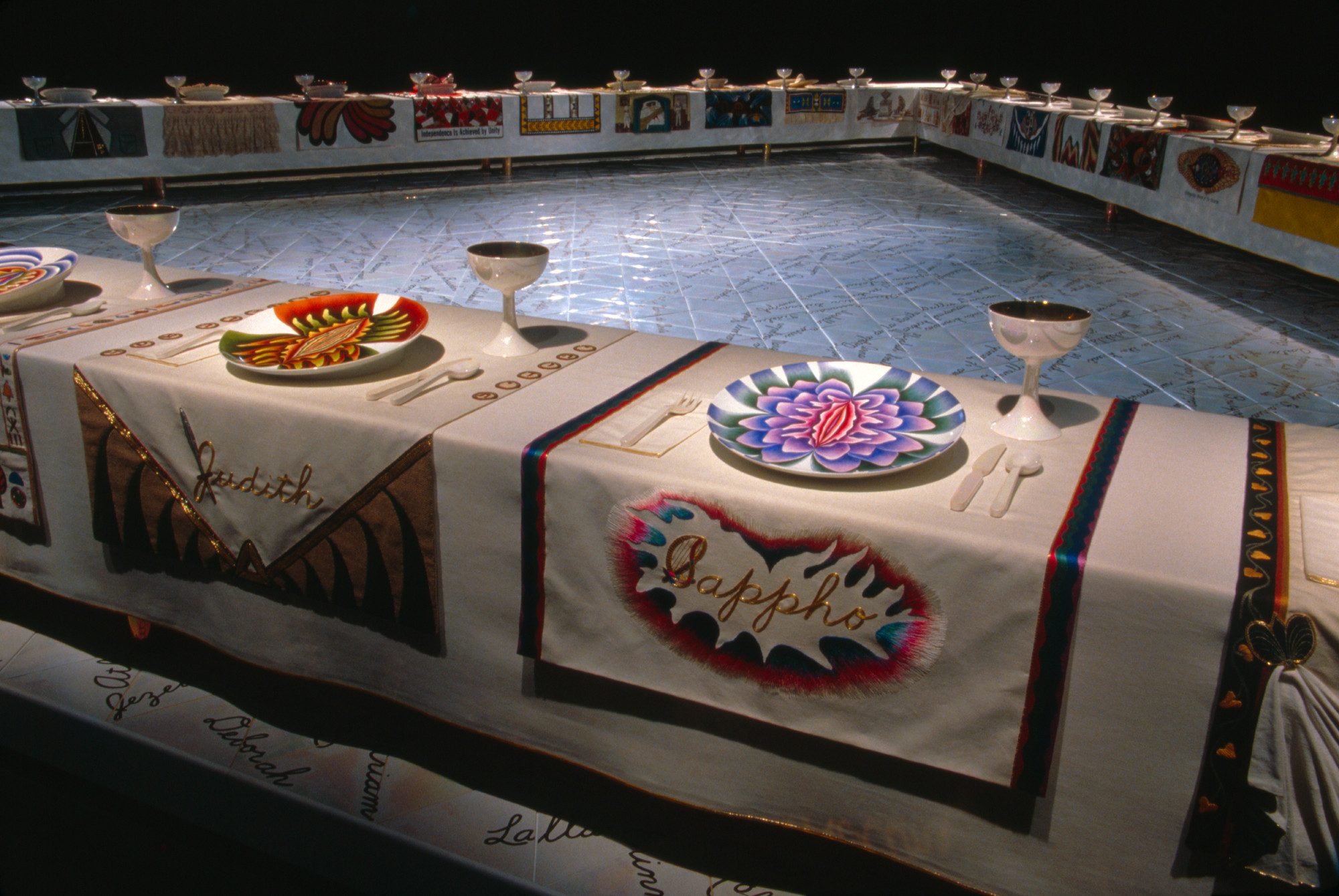 The Dinner Party Judy Chicago  Selected work Judy Chicago