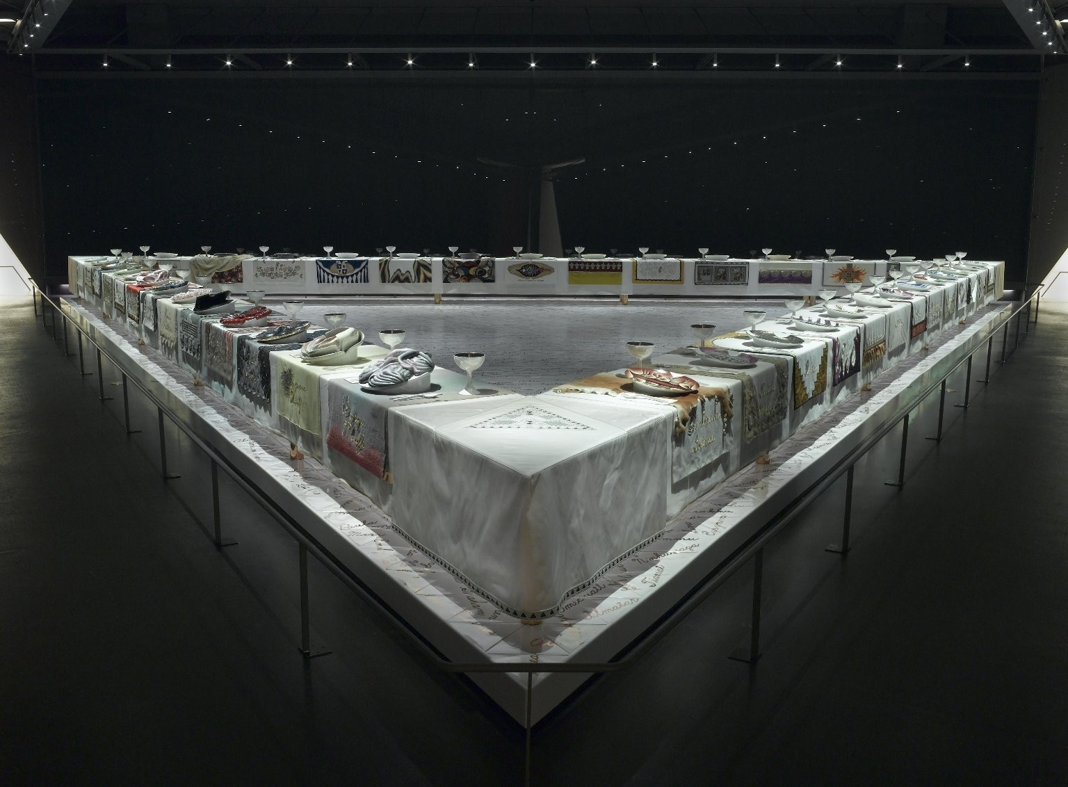 The Dinner Party Judy Chicago  Brooklyn Museum The Dinner Party by Judy Chicago