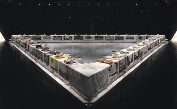 The Dinner Party Judy Chicago  New York City s Art Scene in the 1920s