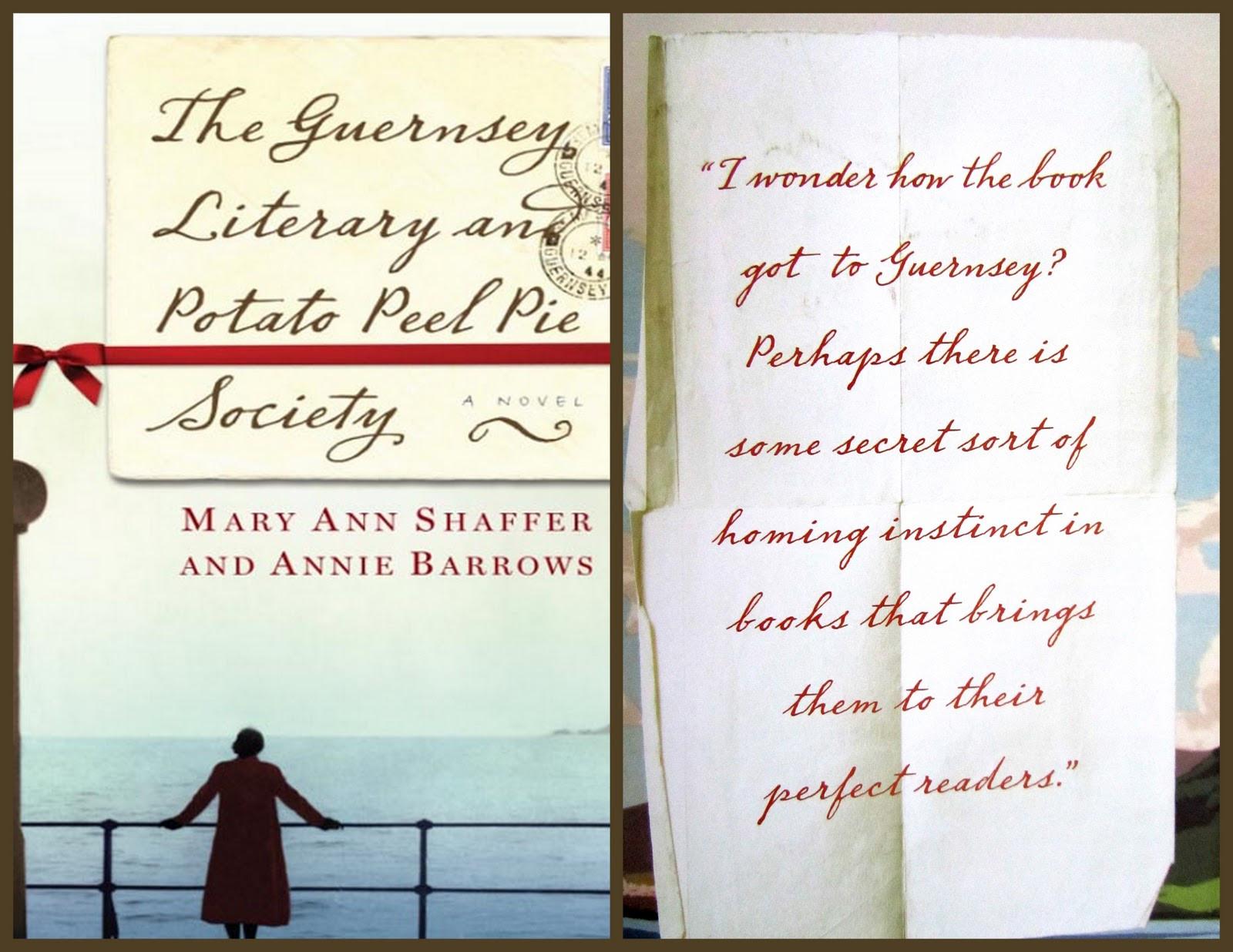 "The Guernsey Literary And Potato Peel Society  Delicious Reads ""The Guernsey Literary & Potato Peel Pie"