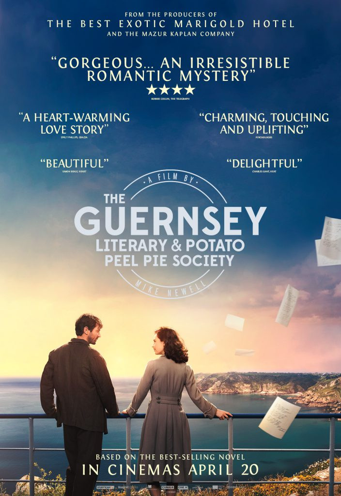 The Guernsey Literary And Potato Peel Society  New Clip & Poster For The Up ing 'The Guernsey Literary