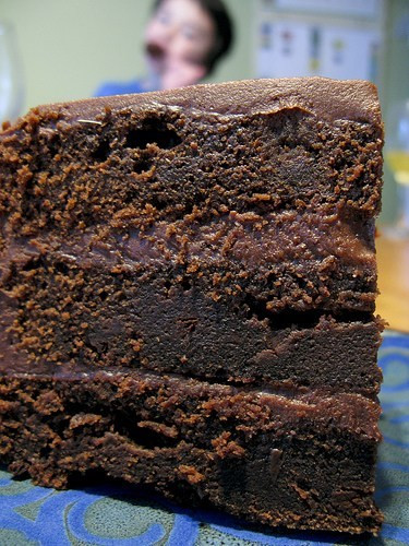 The Most Amazing Chocolate Cake  a hippie with a minivan – Dense Chocolatey Chocolate cake…