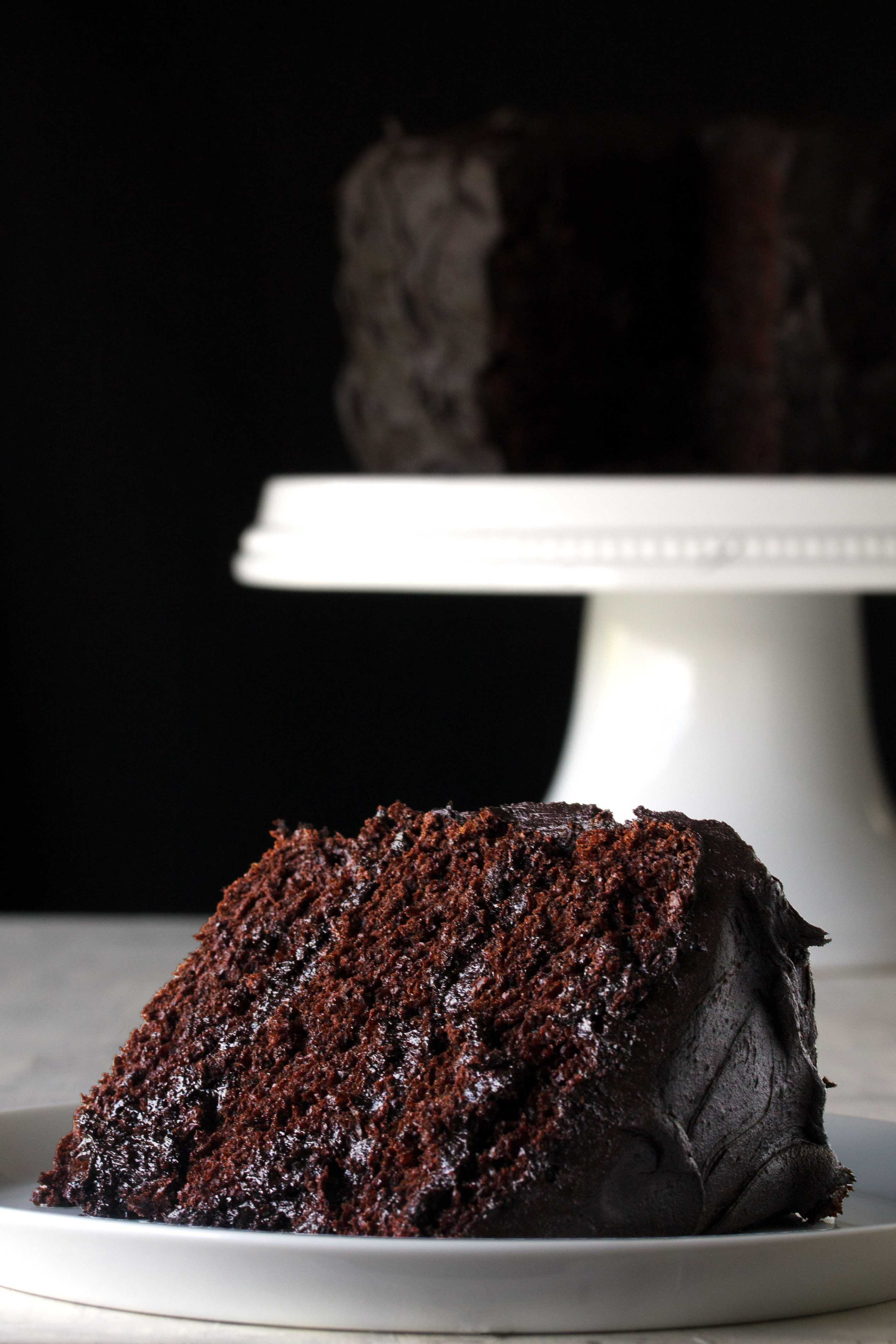 The Most Amazing Chocolate Cake  The Most Amazing Chocolate Cake thestayathomechef