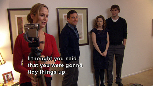 The Office Dinner Party Bloopers  jan levinson