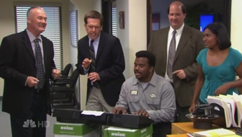 The Office Dinner Party Bloopers  S04E09