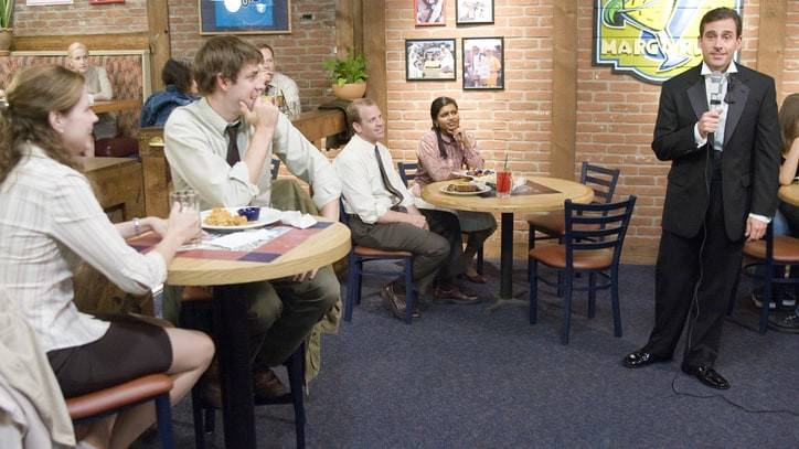 The Office Dinner Party Bloopers  The fice