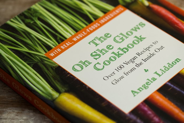 The Oh She Glows Cookbook: Over 100 Vegan Recipes To Glow From The Inside Out  Cookbook Review The Oh She Glows Cookbook recipe giveaway