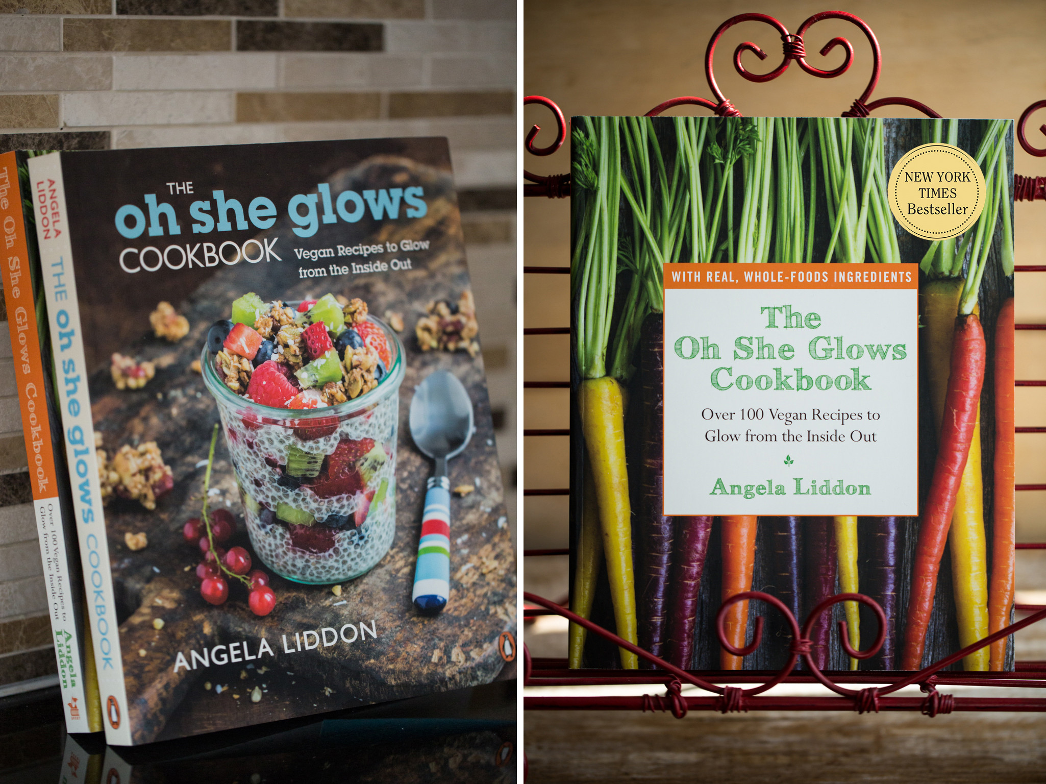The Oh She Glows Cookbook: Over 100 Vegan Recipes To Glow From The Inside Out  The Book — Oh She Glows