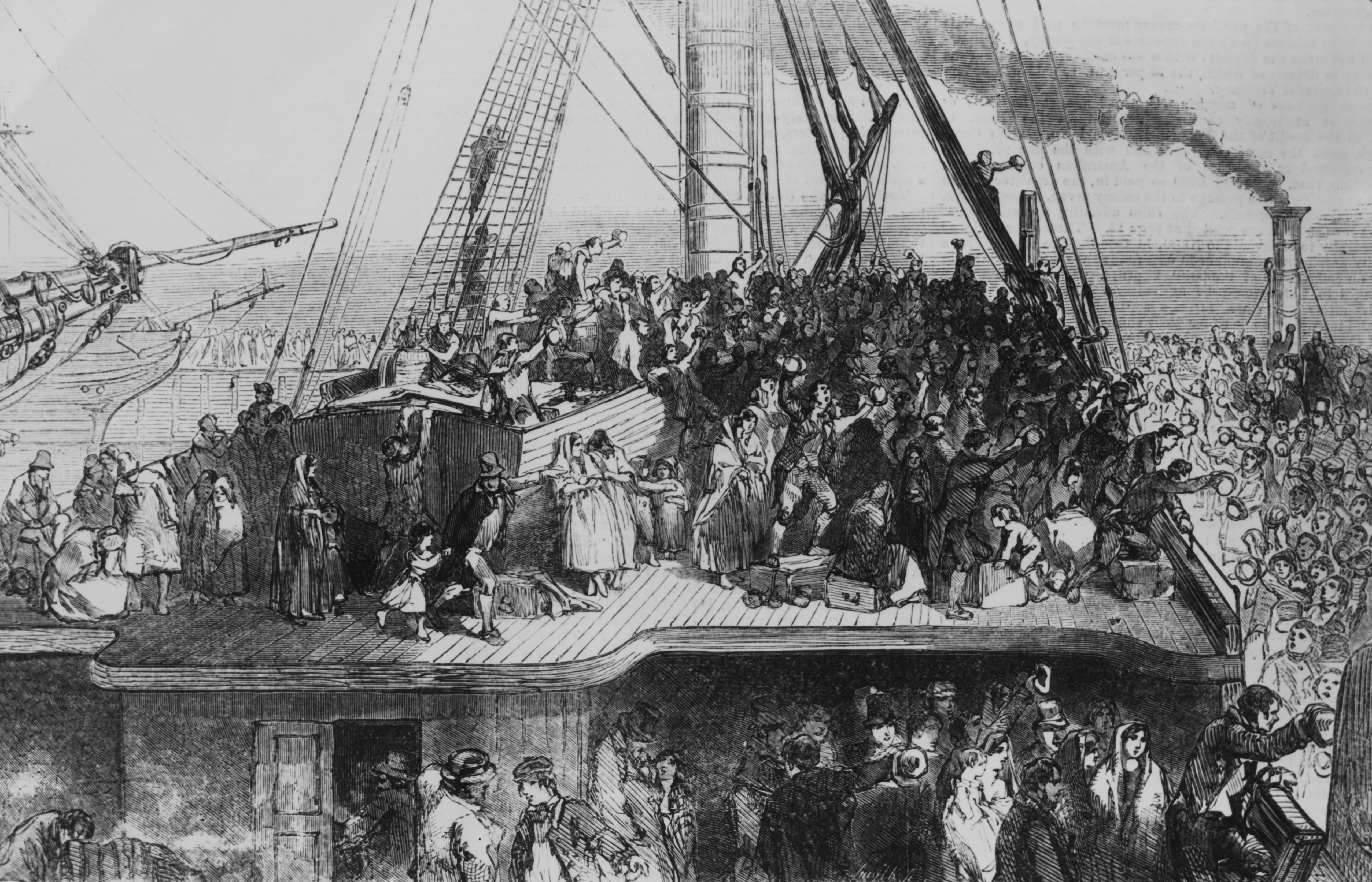 The Potato Famine  When America Despised the Irish The 19th Century's