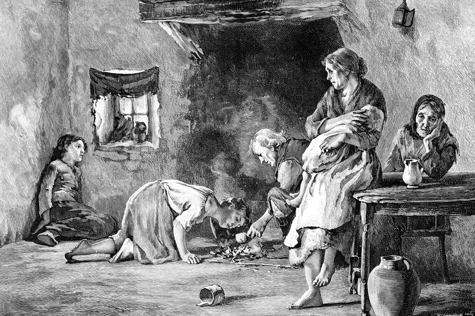 The Potato Famine  Fairy Sightings Archives Page 22 of 25 Fairyist