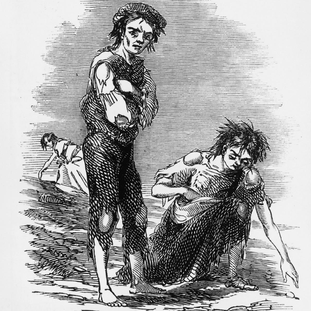 The Potato Famine  The Great Irish Famine In Synonyms – I M H O – Medium