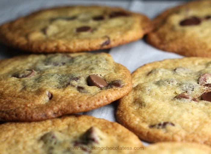 Thin Crispy Chocolate Chip Cookies  Best Thin & Crispy Chocolate Chip Cookies