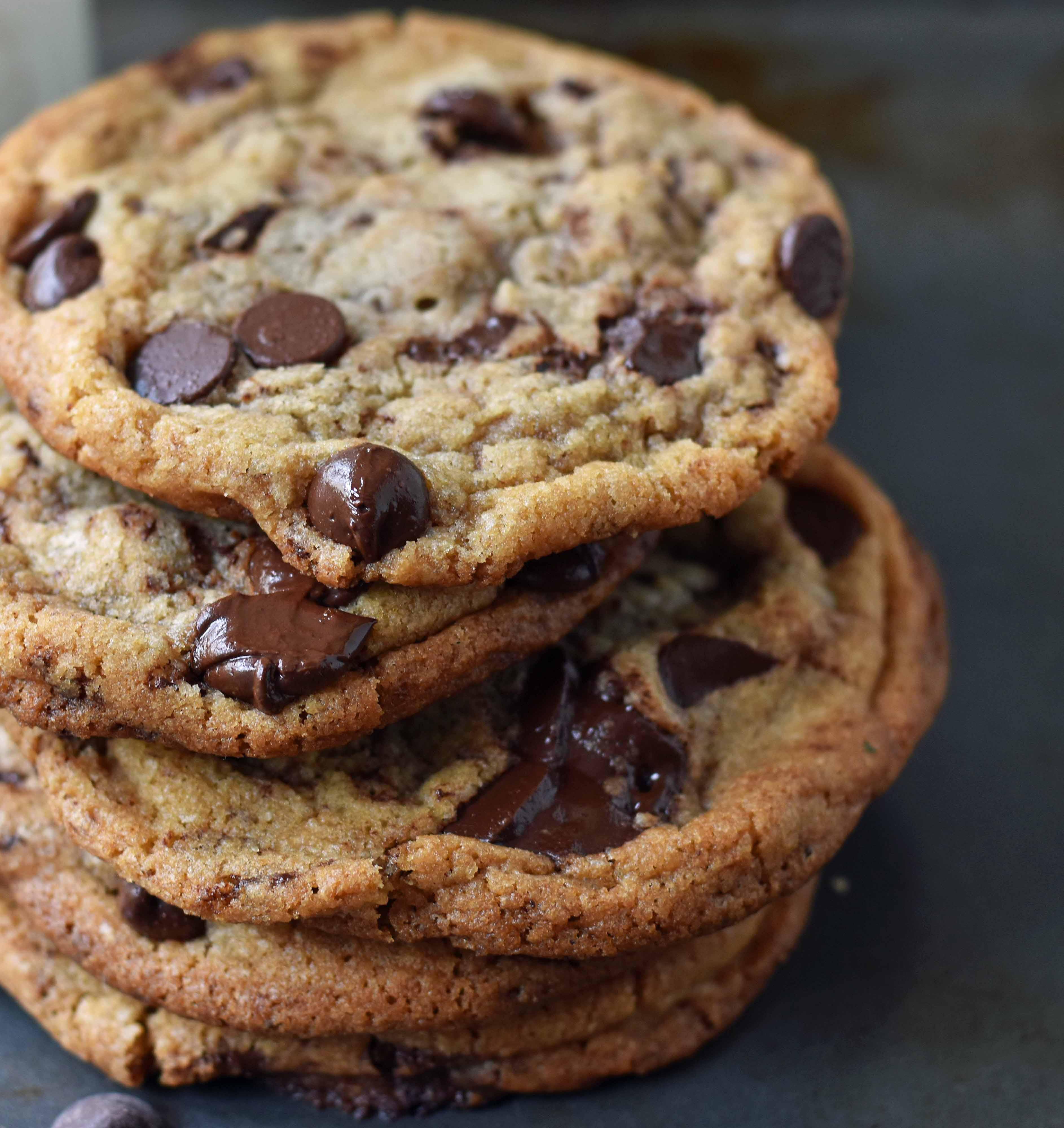 Thin Crispy Chocolate Chip Cookies  Thin and Crispy Chocolate Chip Cookies