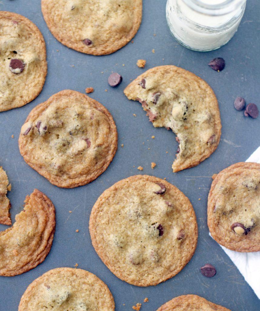 Thin Crispy Chocolate Chip Cookies  Thin & Crispy Chocolate Chip Cookies 5 Boys Baker