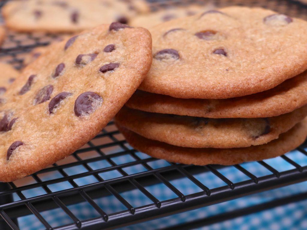 Thin Crispy Chocolate Chip Cookies  Thin & Crispy Chocolate Chip Cookies Recipe