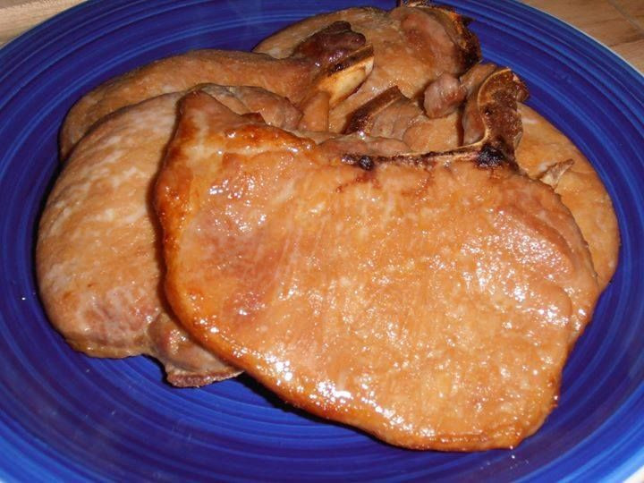 Thin Pork Chops In Oven  Weeknight Pork Chops 4 5 thin cut bone in pork chops 1 4 C