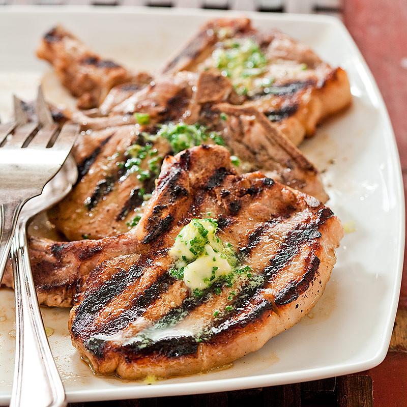 Thin Sliced Pork Chops  Grilled Thin Cut Pork Chops