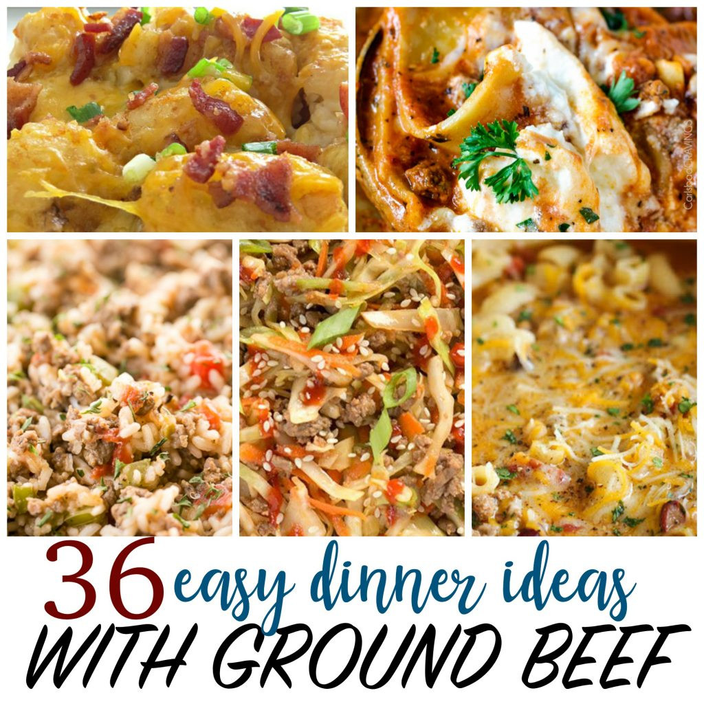 Things To Make With Ground Beef  Cheap Recipes 36 Things to Make with Ground Beef