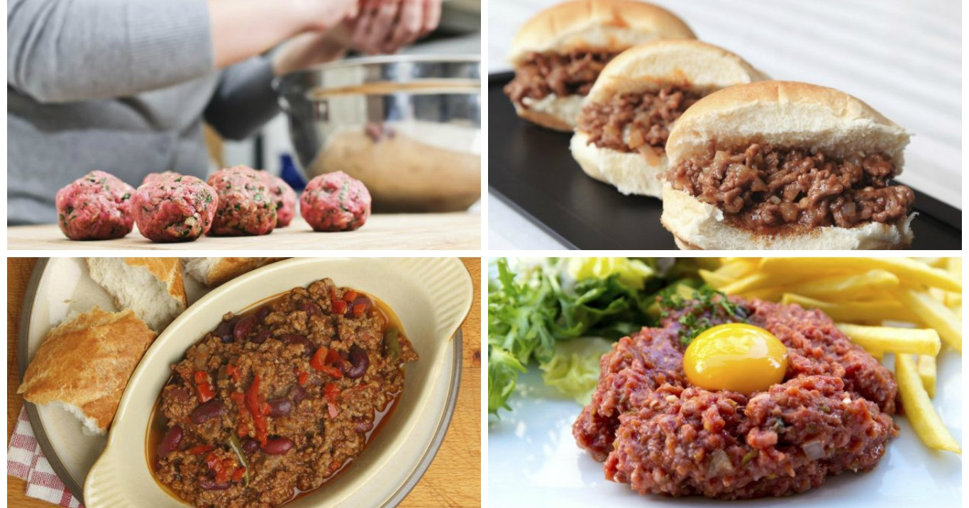 Things To Make With Ground Beef  10 things you can make with ground beef in record time