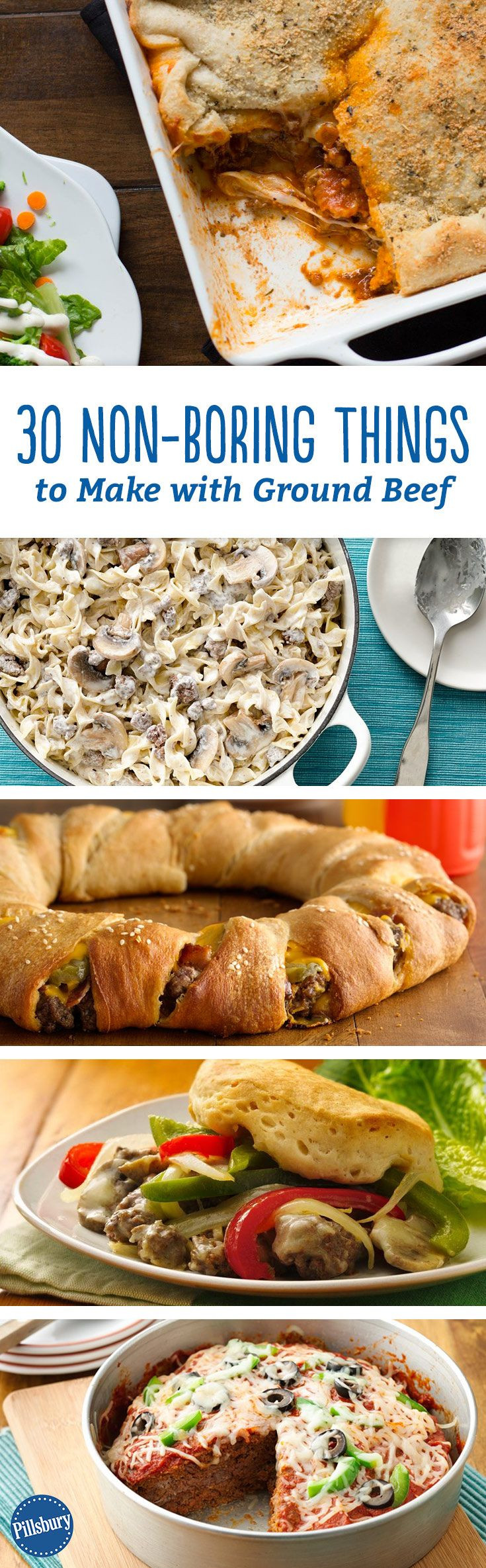 Things To Make With Ground Beef  30 Non Boring Things to Make with Ground Beef