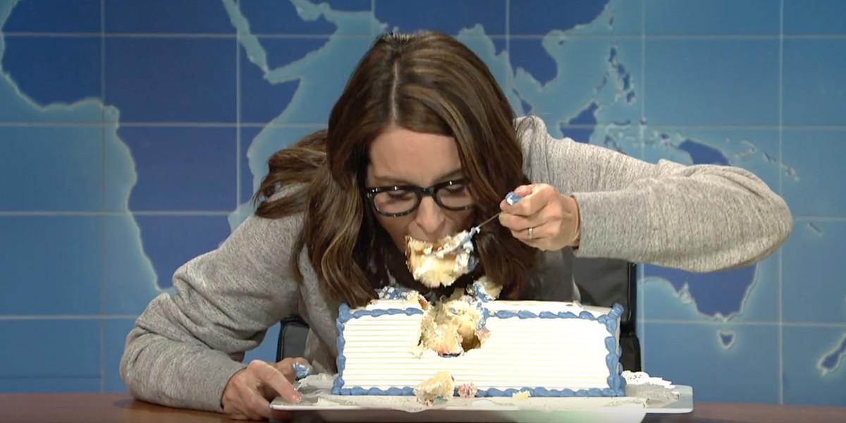 Tina Fey Sheet Cake  The Evolutionary Reason Trump Makes Tina Fey Want to Eat