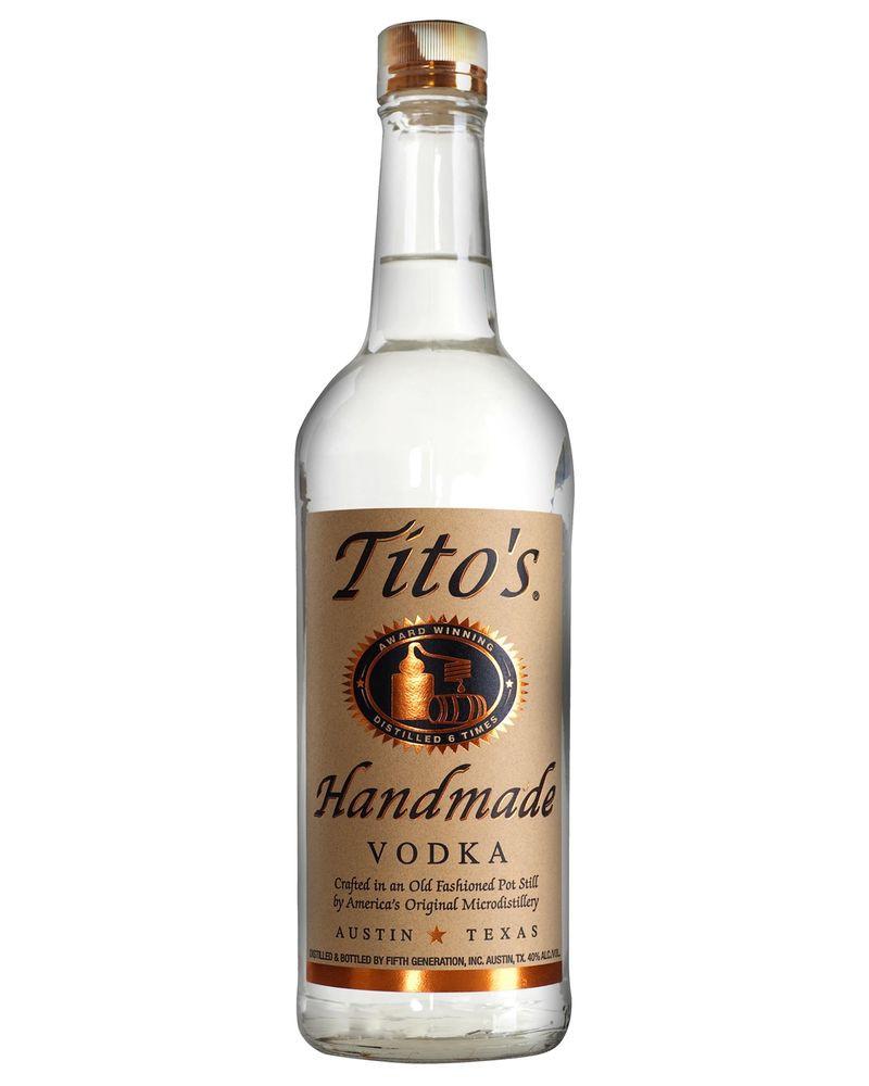 Tito'S Vodka Drinks  Tito s Handmade Vodka 700mL bottle