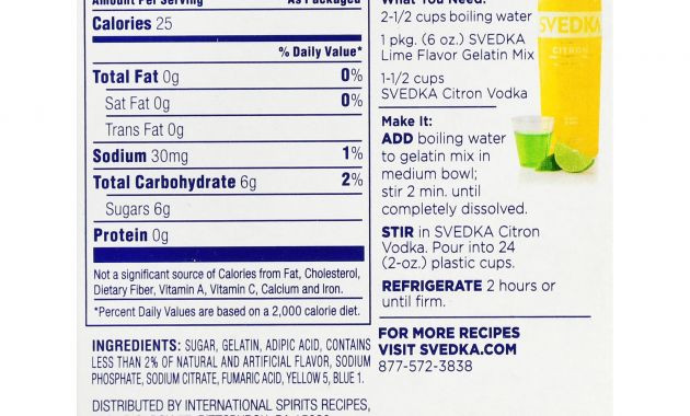 Tito'S Vodka Drinks  Pinnacle G Vodka Nutrition Facts Nutrition Ftempo