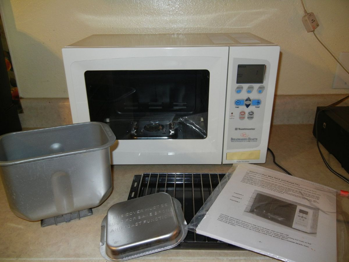 Toastmaster Bread Machine  TOASTMASTER BREADMAKERS HEARTH ALL IN ONE BREAD MAKER
