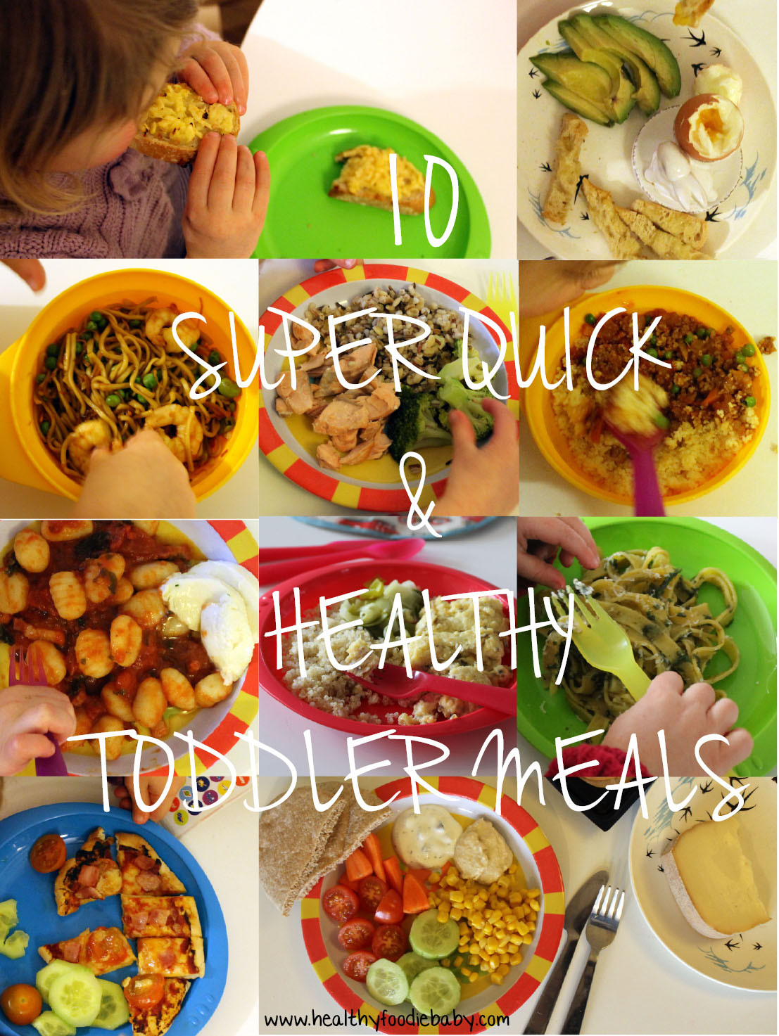 Toddler Dinner Ideas  10 Super Quick & Healthy Toddler Meals – Healthyfoo baby