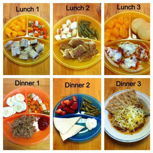 Toddler Dinner Ideas  Pin by Sierra Sams on Baby