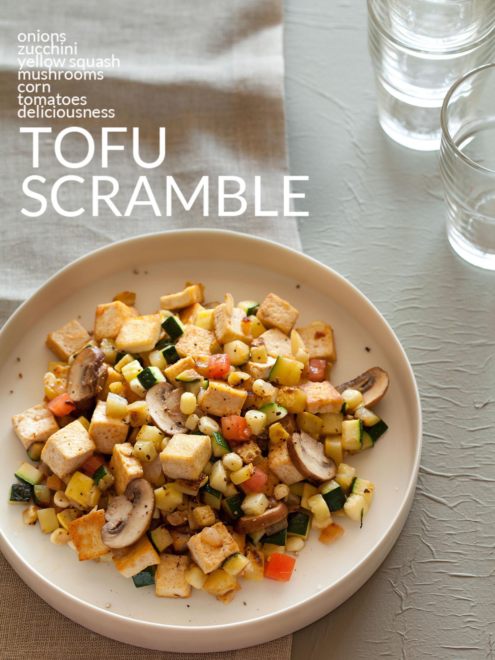 Tofu Breakfast Recipes  Tofu Scramble Breakfast recipe