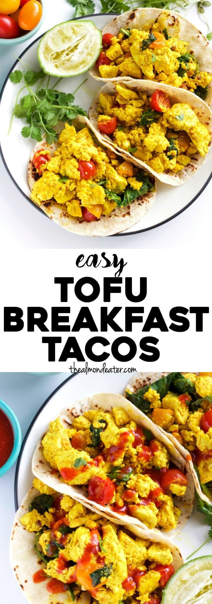 Tofu Breakfast Recipes  Easy Tofu Breakfast Tacos