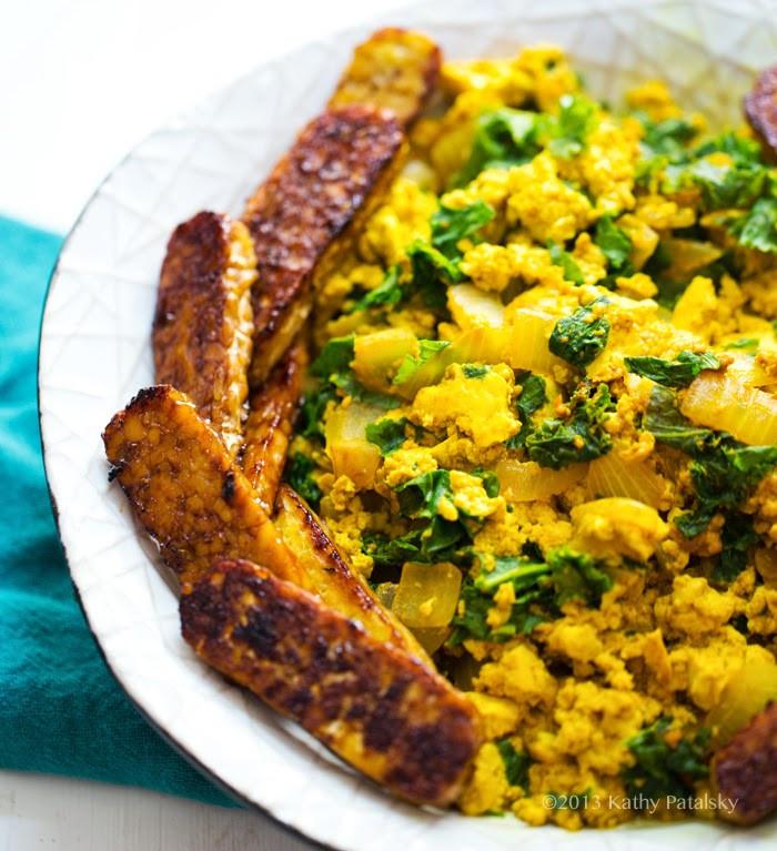 Tofu Breakfast Recipes  Fast & Easy Tofu Scramble Tempeh Bacon Breakfast Bowl