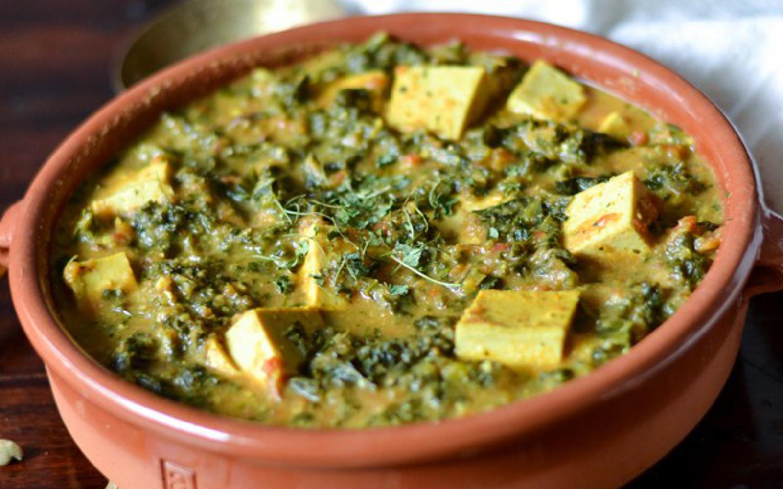 Tofu Curry Recipes  Kale Tofu Curry [Vegan Gluten Free] e Green Planet e